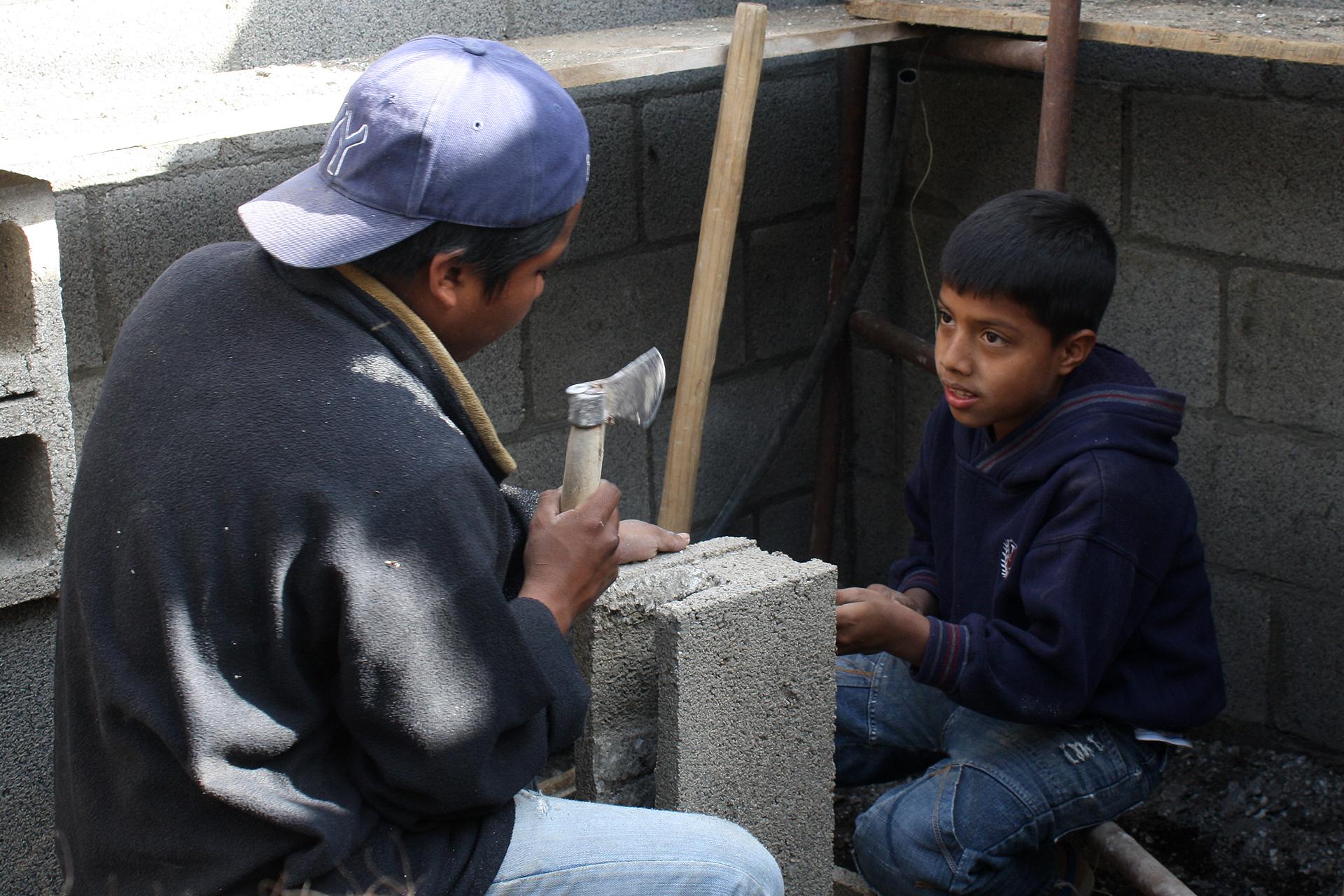 Construcasa in Guatamala