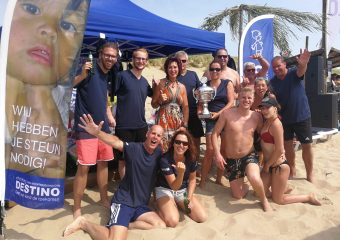 Beachvolleybal 4 aug CBO toernooi Stichting Destino