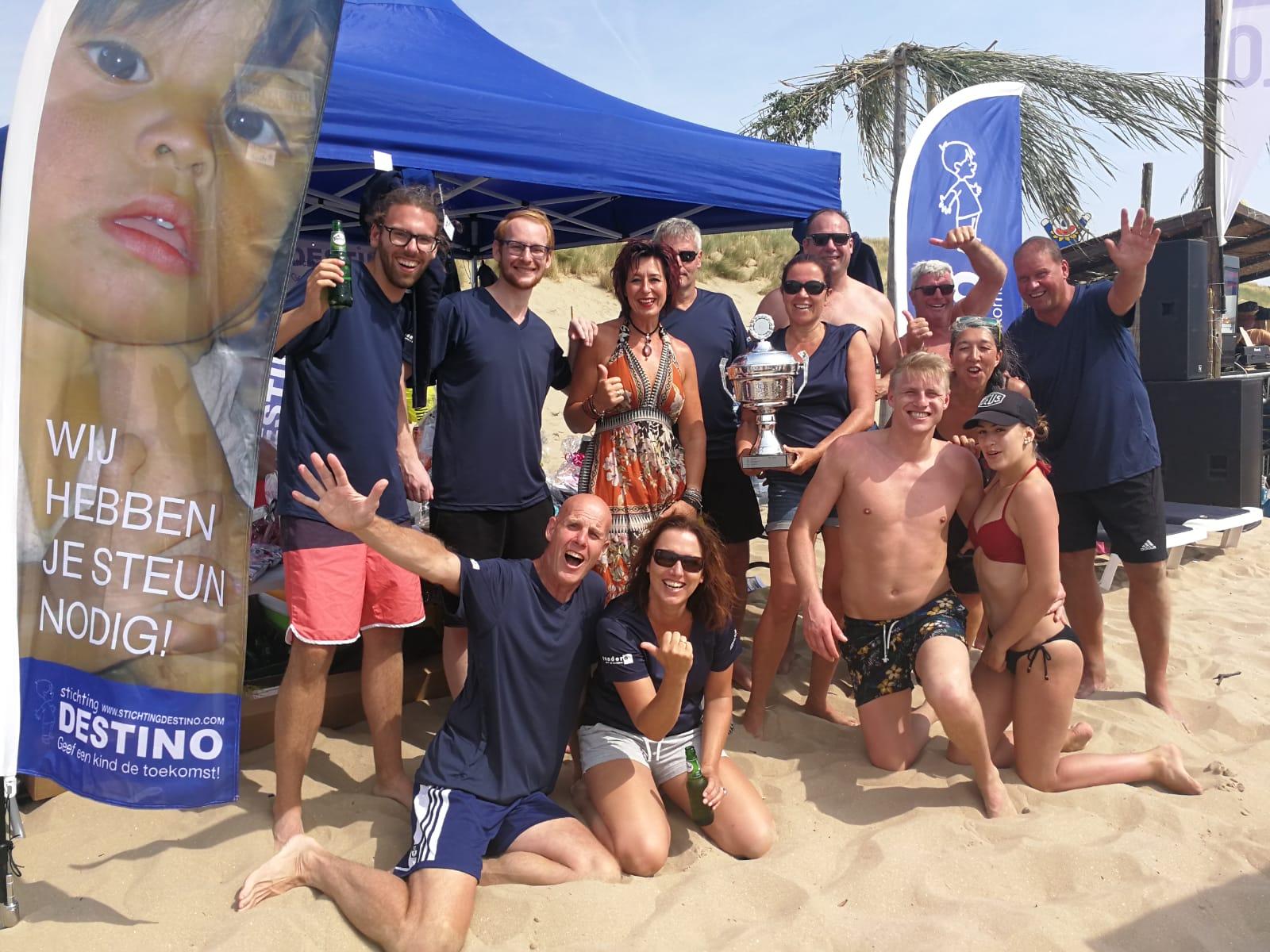 Beachvolleybal 4 aug CBO toernooi Stichting Destino